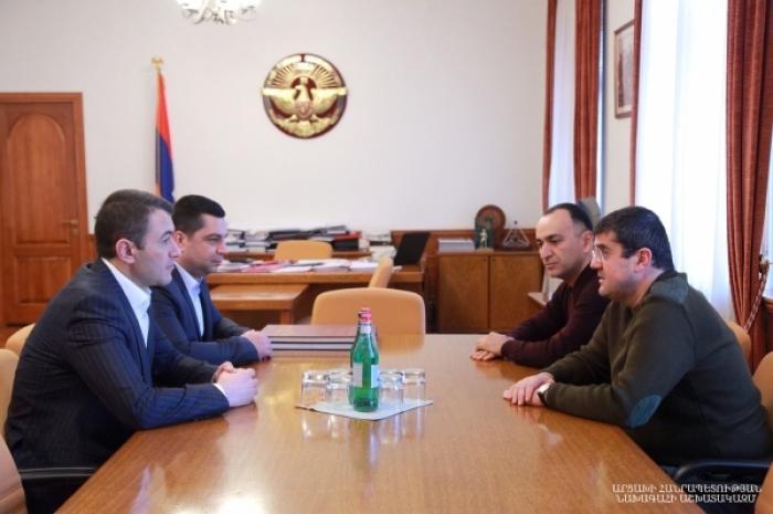 Սուրեն Թովմասյանը երկօրյա այցով Արցախի Հանրապետությունում է